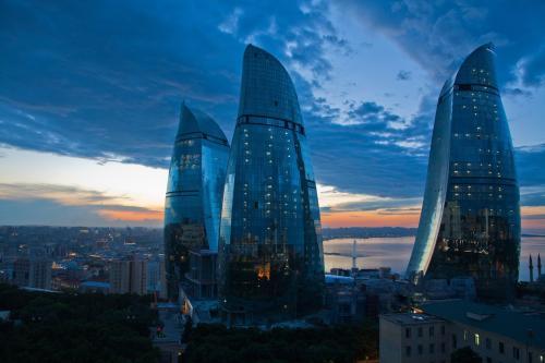 阿塞拜疆巴库摩天大楼